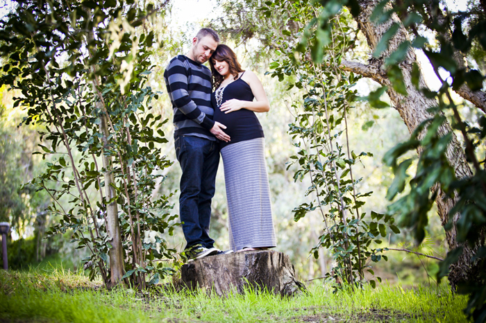 Our Pregnancy 23 Pregnancy Shoot in the Park, Orange County