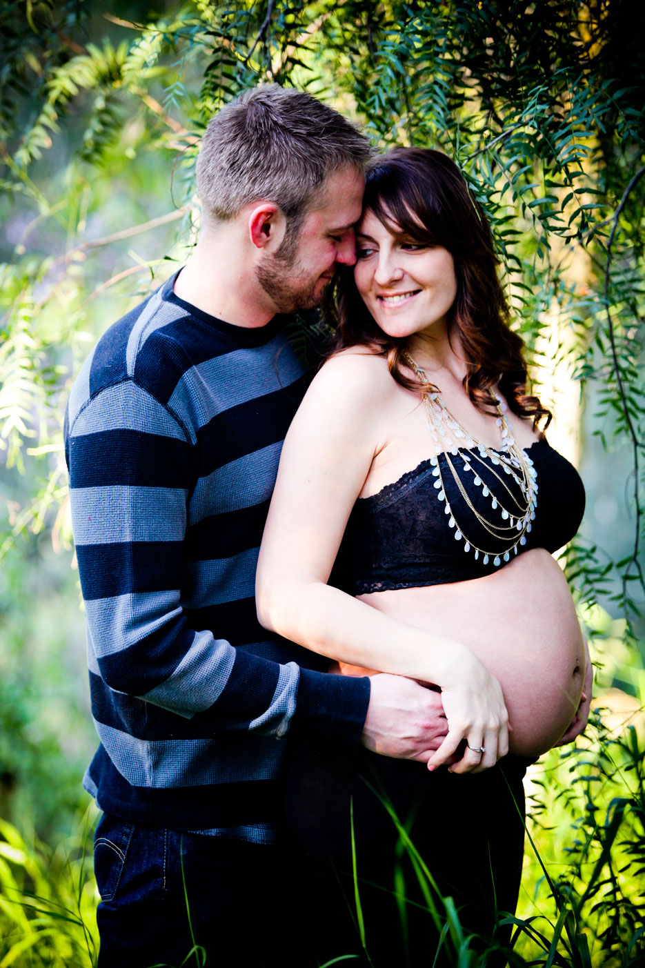 Our Pregnancy 94 Pregnancy Shoot in the Park, Orange County