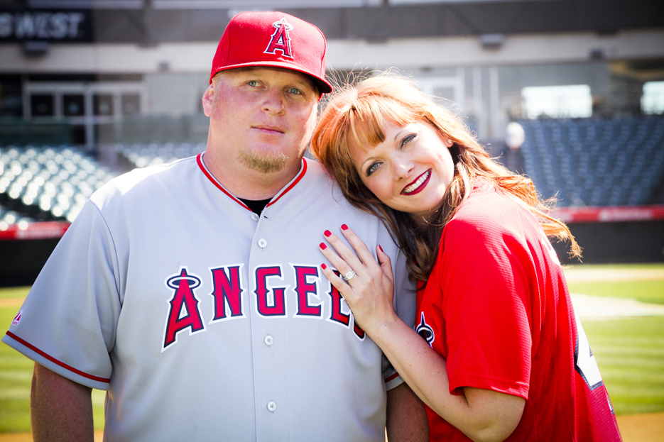 Our Engagement 6 2012 127 Angels Stadium Engagement Shoot