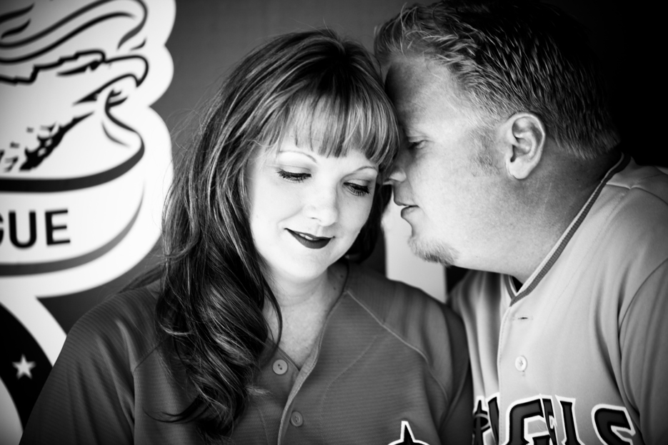 Our Engagement 6 2012 20 Angels Stadium Engagement Shoot
