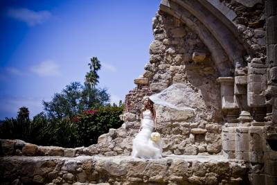 Romantics 161 Mission San Juan Capistrano Wedding