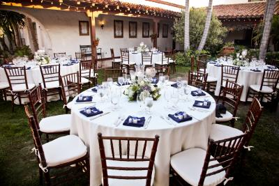 Our Dinner Resception 9 Casa Romantica Wedding, San Clemente