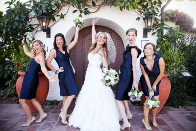 Your Girls 17 Casa Romantica Wedding, San Clemente